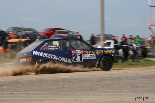 Ралли победа 2008